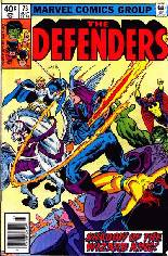 Defenders (1972-1986) #73 Variant A: Newsstand Edition