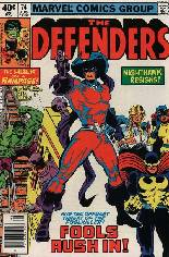 Defenders (1972-1986) #74 Variant A: Newsstand Edition