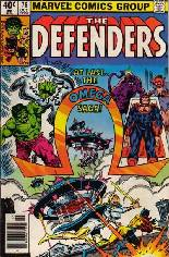 Defenders (1972-1986) #76 Variant A: Newsstand Edition