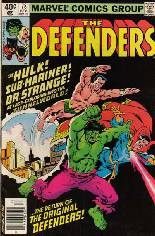 Defenders (1972-1986) #78 Variant A: Newsstand Edition
