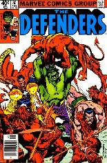 Defenders (1972-1986) #80 Variant A: Newsstand Edition