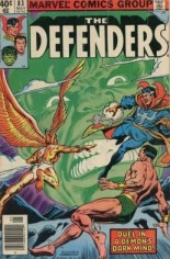 Defenders (1972-1986) #83 Variant A: Newsstand Edition