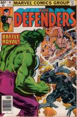 Defenders (1972-1986) #84 Variant A: Newsstand Edition