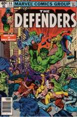Defenders (1972-1986) #86 Variant A: Newsstand Edition