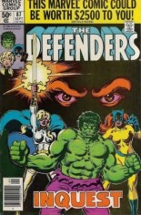 Defenders (1972-1986) #87 Variant A: Newsstand Edition