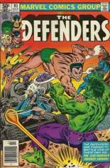 Defenders (1972-1986) #93 Variant A: Newsstand Edition