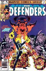 Defenders (1972-1986) #96 Variant A: Newsstand Edition