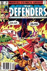 Defenders (1972-1986) #99 Variant A: Newsstand Edition