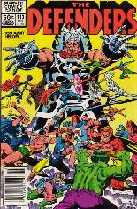 Defenders (1972-1986) #113 Variant A: Newsstand Edition