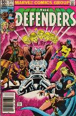Defenders (1972-1986) #117 Variant A: Newsstand Edition