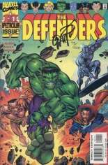 Defenders (2001-2002) #1 Variant B: DF Signed Edition; Signed by Erik Larsen