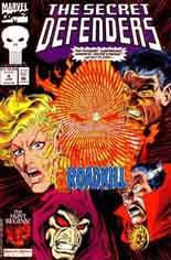 Secret Defenders (1993-1995) #4 Variant B: Direct Edition