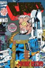 Cable (1993-2002) #1 Variant D: DF Signed Edition; Signed by Art Thibert; w/ COA; Gold Foil Wraparound Cover