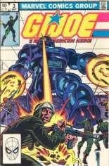 G.I. Joe (1982-1994) #3 Variant C: Direct Edition; Marvel ''M'' Logo Price Block