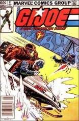 G.I. Joe (1982-1994) #11 Variant A: Newsstand Edition