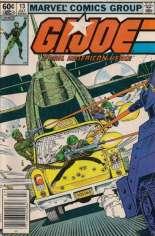 G.I. Joe (1982-1994) #13 Variant A: Newsstand Edition