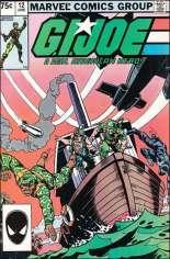 G.I. Joe (1982-1994) #12 Variant C: 2nd Printing
