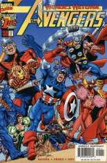 Avengers (1998-2004) #1 Variant B: Direct Edition