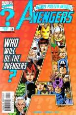 Avengers (1998-2004) #4 Variant B: Direct Edition; Comes w/ Poster
