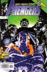 Avengers (1998-2004) #11 Variant B: Direct Edition