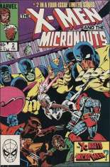 X-Men and the Micronauts (1984) #2 Variant B: Direct Edition