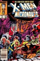 X-Men and the Micronauts (1984) #3 Variant A: Newsstand Edition