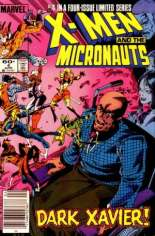 X-Men and the Micronauts (1984) #4 Variant A: Newsstand Edition