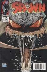Spawn (1992-Present) #4 Variant A: Newsstand Edition; No Coupon
