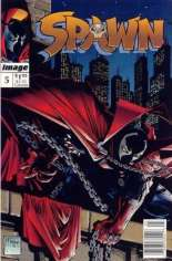 Spawn (1992-Present) #5 Variant A: Newsstand Edition