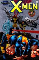 Marvel Collectible Classics: X-Men (1998) #1 Variant B: Chromium Cover; DF Signed Edition; Signed by Adam Kubert; Limited to 1500 Copies