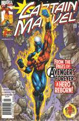 Captain Marvel (1999-2002) #1 Variant A: Newsstand Edition