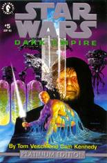 Star Wars: Dark Empire #5 Variant C: Platinum Edition