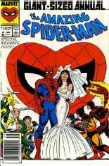 Amazing Spider-Man (1963-1998) #Annual 21 Variant A: Newsstand Edition; Spider-Man Cover