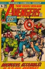 Avengers (1963-1996) #100 Variant B: UK Edition