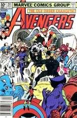 Avengers (1963-1996) #211 Variant A: Newsstand Edition