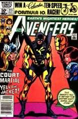 Avengers (1963-1996) #213 Variant A: Newsstand Edition