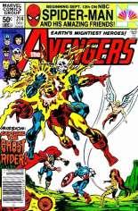 Avengers (1963-1996) #214 Variant A: Newsstand Edition
