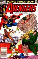 Avengers (1963-1996) #222 Variant A: Newsstand Edition