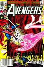 Avengers (1963-1996) #231 Variant A: Newsstand Edition