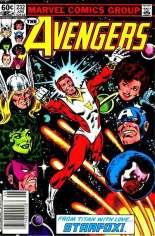 Avengers (1963-1996) #232 Variant A: Newsstand Edition