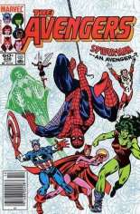 Avengers (1963-1996) #236 Variant A: Newsstand Edition