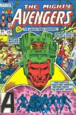 Avengers (1963-1996) #243 Variant B: Direct Edition