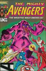 Avengers (1963-1996) #244 Variant B: Direct Edition