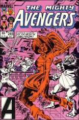 Avengers (1963-1996) #245 Variant B: Direct Edition