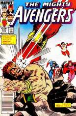 Avengers (1963-1996) #252 Variant A: Newsstand Edition