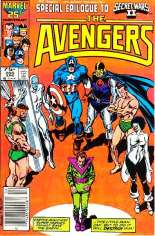 Avengers (1963-1996) #266 Variant A: Newsstand Edition