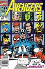 Avengers (1963-1996) #329 Variant A: Newsstand Edition