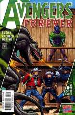 Avengers Forever (1998-2000) #4 Variant C: Cowboys Cover