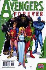 Avengers Forever (1998-2000) #4 Variant B: 1950s Avengers Cover