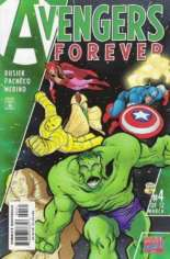 Avengers Forever (1998-2000) #4 Variant D: Sphinx in Space Cover